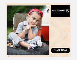 #96 for Banner for Advertising Knuckleheads Clothing af evanaakter292