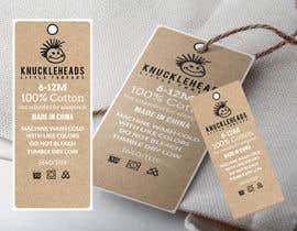 #53 untuk Clothing printed tag oleh takemenet