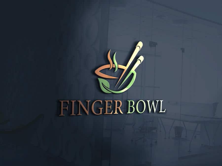 """Konkurrenceindlæg #122 for Logo design for Food Catering & Restaurant Company - """"Finger Bowl"""""""