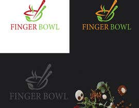 "#123 for Logo design for Food Catering & Restaurant Company - ""Finger Bowl"" by risantushar"