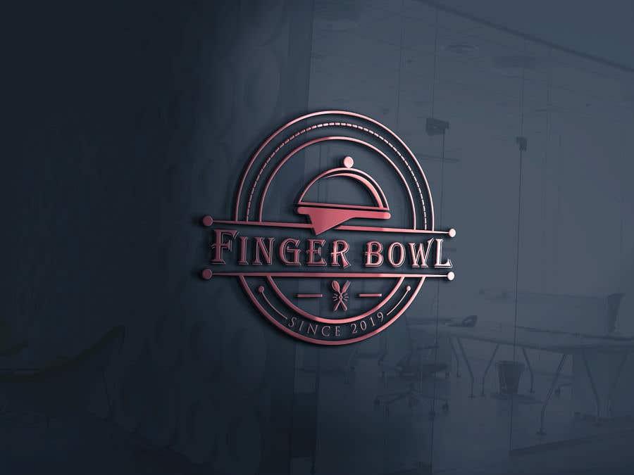 """Konkurrenceindlæg #124 for Logo design for Food Catering & Restaurant Company - """"Finger Bowl"""""""