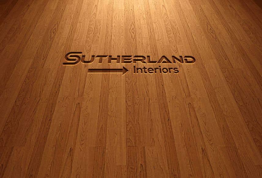 Bài tham dự cuộc thi #1181 cho Sutherland Interiors