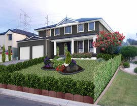 #45 for Update house front design, Graphic by stefaniamar