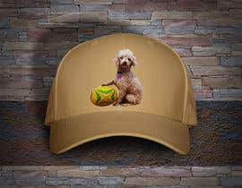 #307 untuk I need a logo of a photo of a dog for embroidered hat oleh anjanadutt