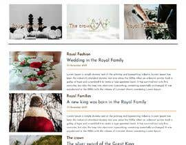 #17 for Build a website about royal families in the world by marinaflorenta