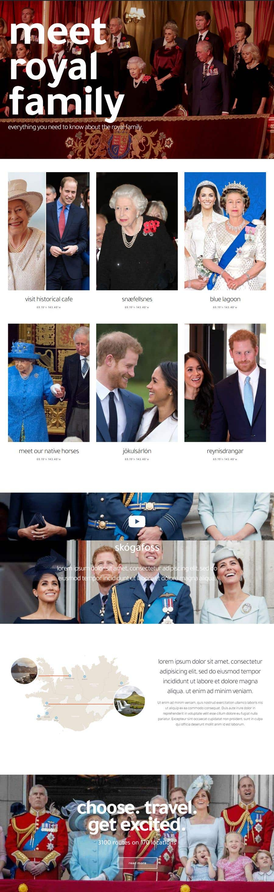 Contest Entry #10 for Build a website about royal families in the world