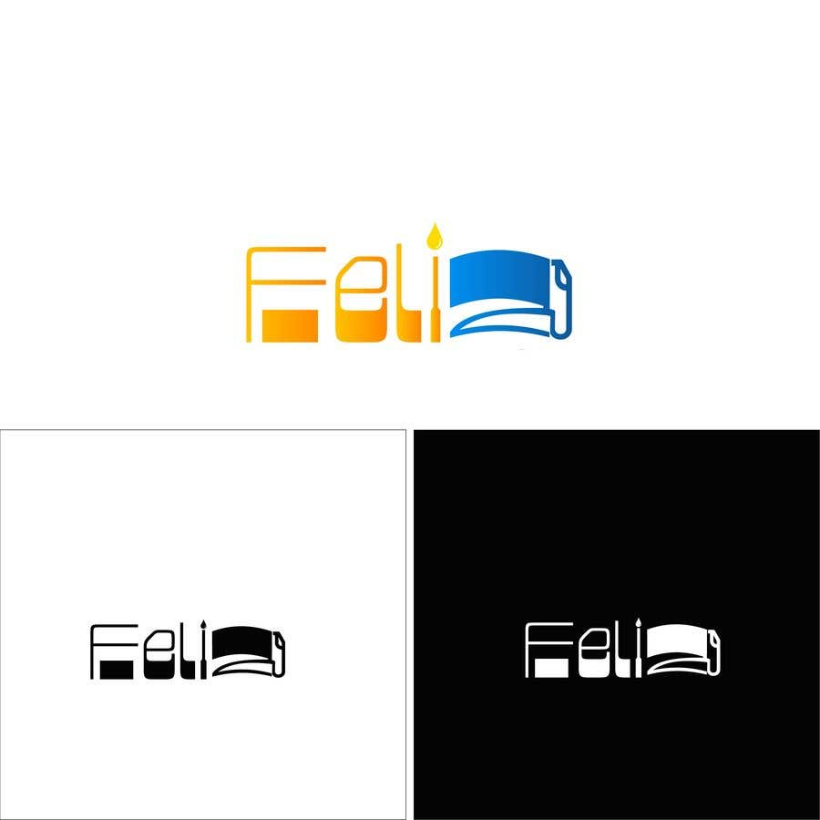"Kilpailutyö #166 kilpailussa Design Logo to Gas Sation called ""Feliz"""