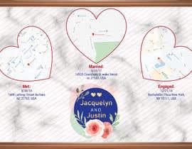 Nro 7 kilpailuun wedding poster käyttäjältä MandalTapan