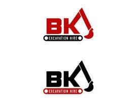Nro 12 kilpailuun Logo Design for excavation hire business käyttäjältä KateStClair
