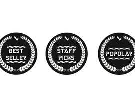 "#27 for ""Best Seller"", ""Staff Picks"" and ""Popular"" Badges for website products af BDIW98"