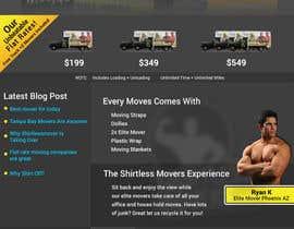 #28 para Design a Website Mockup for shirtlessmovers.com por lola2021