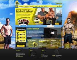 #35 para Design a Website Mockup for shirtlessmovers.com por massoftware
