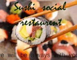#16 untuk Sushi Social oleh zee9434