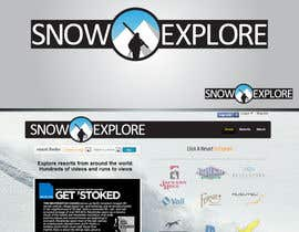 nº 26 pour Logo Design for Snowexplore par HammyHS