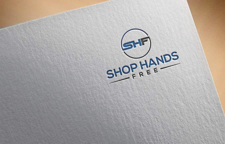 Penyertaan Peraduan #239 untuk Shop Hands Free logo