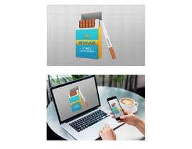 Nro 86 kilpailuun Hemp Cigarettes Packaging käyttäjältä fleru
