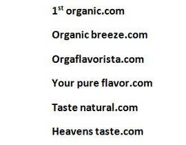 #228 untuk Need a brand name for 100% Organic Juice oleh hamadktr008