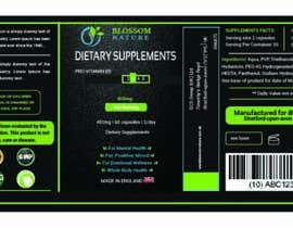 #11 for Label for Supplement by aminasyl123
