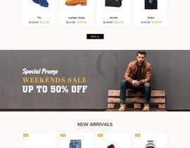 nº 19 pour Design a Custom Shopping Website par carmelomarquises