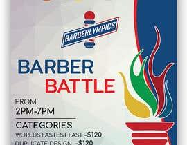 #55 for event flyer barber battle af SwiftTech3