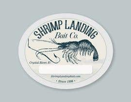 #52 for Create a high quality design for a packaging label to be used on fishing bait. Use a fishing hook, shrimp, the company name etc to create a quality label that can be used across a variety of various fishing baits that we sell. af lugas