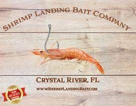 #89 for Create a high quality design for a packaging label to be used on fishing bait. Use a fishing hook, shrimp, the company name etc to create a quality label that can be used across a variety of various fishing baits that we sell. af darpon28030