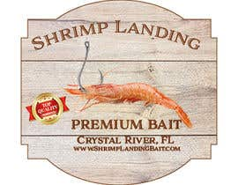 #126 for Create a high quality design for a packaging label to be used on fishing bait. Use a fishing hook, shrimp, the company name etc to create a quality label that can be used across a variety of various fishing baits that we sell. af darpon28030