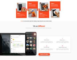 #20 untuk Design a landing page to sell one product: oleophobic touchscreen coating oleh jaswinder527