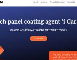 #11 untuk Design a landing page to sell one product: oleophobic touchscreen coating oleh protimakhan7