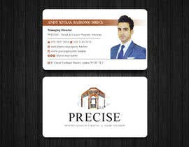 #197 untuk design my business card for real estate company oleh Uttamkumar01