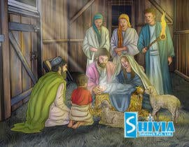 Nro 11 kilpailuun Illustration of Nativity scene with three faces (portrait work) käyttäjältä infotechshivia18