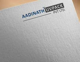 #21 для Logo of company aadinath uvpack pvt ltd от jonymostafa19883