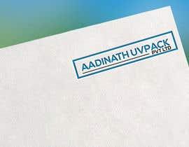 #7 para Logo of company aadinath uvpack pvt ltd por mhira5066