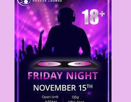 satishandsurabhi tarafından Flyer for DJ Party for Social Media Quickly and Poster Dimensions 457 × 610mm. için no 11
