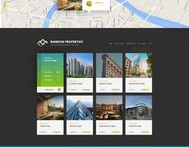 tidream24 tarafından Refresh Design UI for a Real Estate Agent Personal Website için no 45