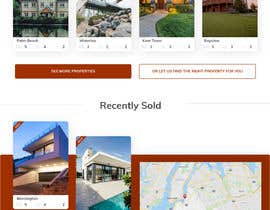 sanshii tarafından Refresh Design UI for a Real Estate Agent Personal Website için no 54