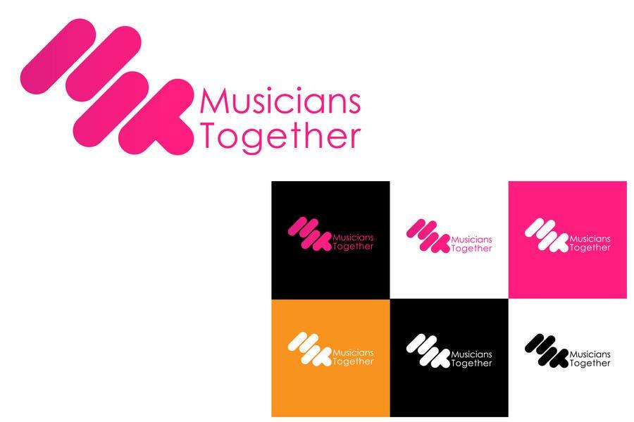Penyertaan Peraduan #10 untuk Logo Design for Musicians Together website