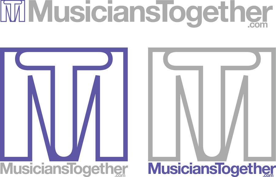Penyertaan Peraduan #4 untuk Logo Design for Musicians Together website
