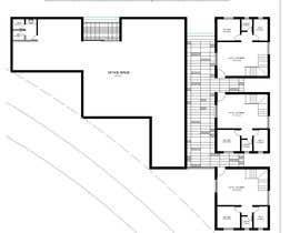 #37 pentru Floor plan for small mixed-use building de către farzanayesminbd
