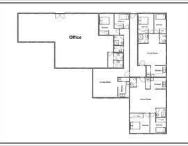 #4 pentru Floor plan for small mixed-use building de către ArchiCode
