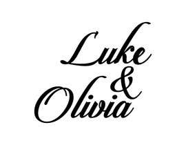 "#24 untuk I need a logo done in script with the names ""Luke and Olivia."" Doesn't have to be linear, can be circular, whatever. Looking for your creativity. oleh alamin27016"