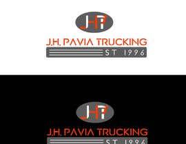 #41 dla J.H. PAVIA TRUCKING  EST 1996      (Logo for a Truckng Company) przez mdhazratwaskurni