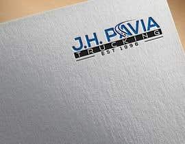 #35 dla J.H. PAVIA TRUCKING  EST 1996      (Logo for a Truckng Company) przez jakiajaformou9