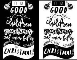 juliadafne123 tarafından Christmas Typography için no 1
