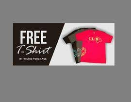 #33 for Free T-Shirt banner by ConceptGRAPHIC