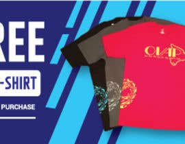 #50 cho Free T-Shirt banner bởi hasembd