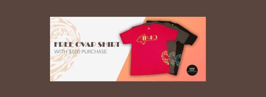 Kilpailutyö #37 kilpailussa Free T-Shirt banner