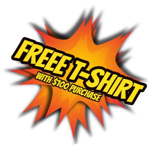 Kilpailutyö #2 kilpailussa Free T-Shirt banner