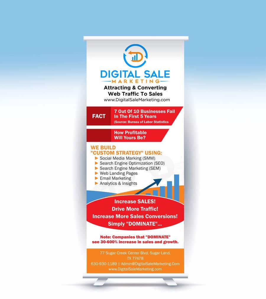 Proposition n°33 du concours Pull Up Banner Design For Digital Marketing Agency