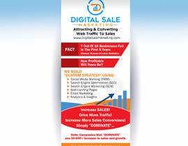 nº 33 pour Pull Up Banner Design For Digital Marketing Agency par deepakshan